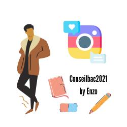Conseil bac 2021 by Enzo logo
